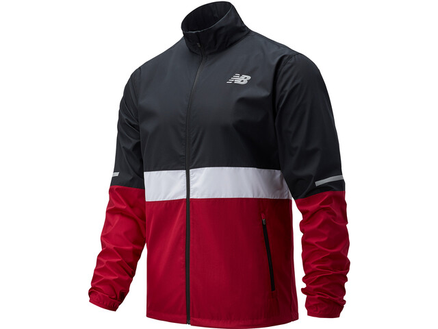 New Balance Accelerate Jacket Men horizon red